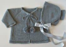 Las rebecas de crochet para niña para todo look glamuroso