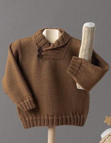 sacos de lana para niños a mano