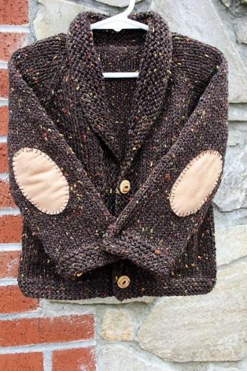 sacos de lana para niños con coderas