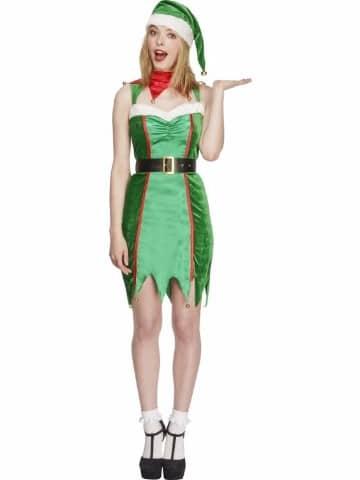 trajes de duendes navideños para fiesta