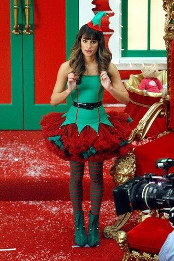 trajes de duendes navideños para mujer