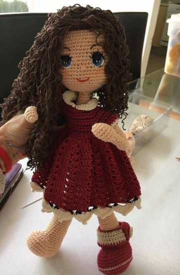 vestidos para muñecas de trapo como hacer