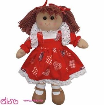 vestidos para muñecas de trapo con tela