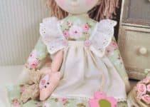 Lindos vestidos para muñecas de trapo como los imaginas