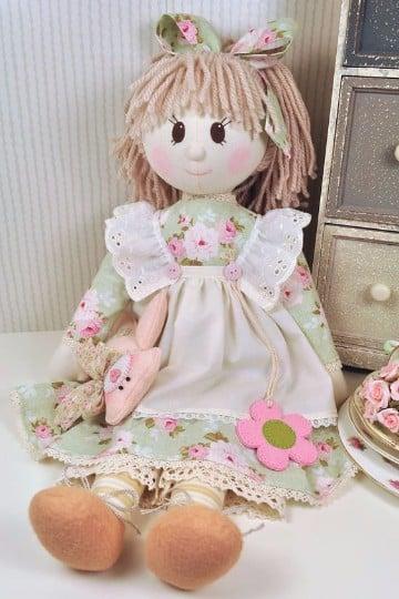 vestidos para muñecas de trapo faciles