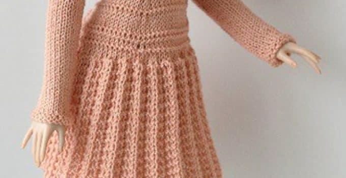 patrones de vestidos tejidos a crochet para barbies | Tejidos a ...