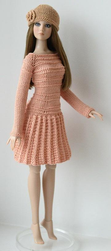 vestidos tejidos para barbie 2018