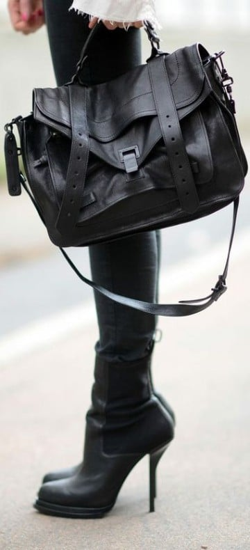 bolsas negras para dama comodas