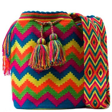 bolsos a mano Etnicos muchos colores