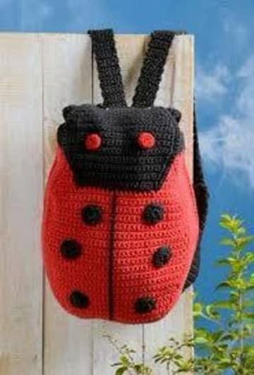 bolsos de crochet para niñas de coquito