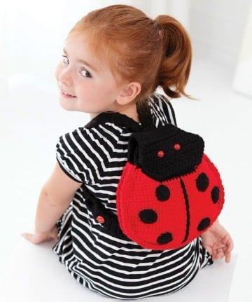 bolsos de crochet para niñas paso a paso