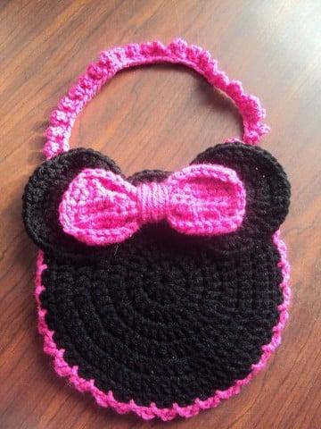 bolsos de ganchillo para niña con diseño