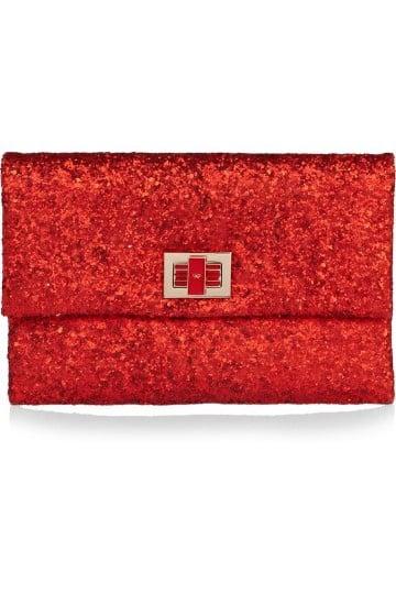 bolsos rojos de fiesta con lentejuelas