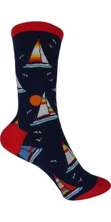 calcetines de colores para hombre velero