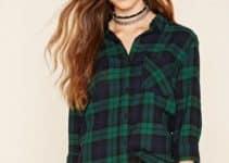 Las camisas de cuadros para mujer una moda que sigue vigente