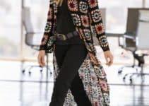 Modelos de cardigan tejido a crochet para todos y todas