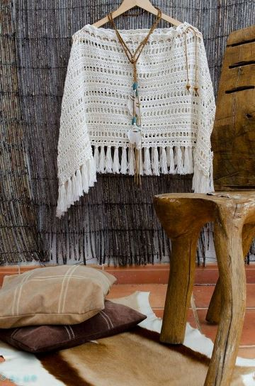 chalecos tejidos con lana gruesa