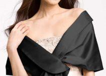 Las chalinas para vestidos de noche modernas y elegantes