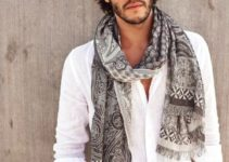 Los diseños de bufandas para hombre en tendencia este 2018