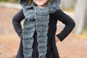 Los gorros y bufandas para niños como se llevan en el 2018