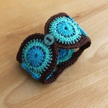 pulseras tejidas paso a paso en tres colores