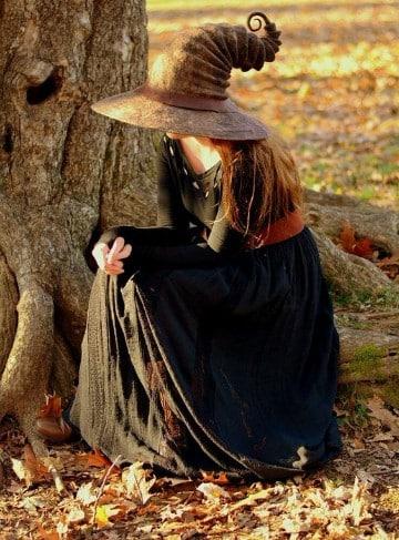 sombreros de brujas originales edad media
