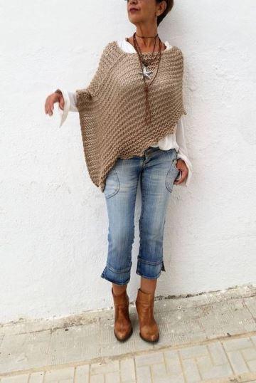 tejidos con lana gruesa a mano