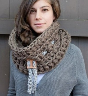 tipos de bufandas para mujeres grandes