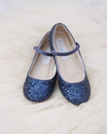 bailarinas azul marino niñas