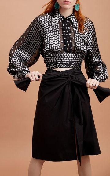 blusas estampadas para dama elegantes