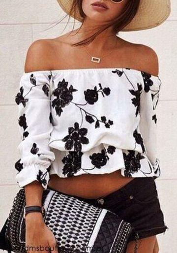 blusas estampadas para dama