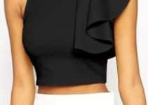 Fotos y recomendaciones de blusas negras elegantes 2018