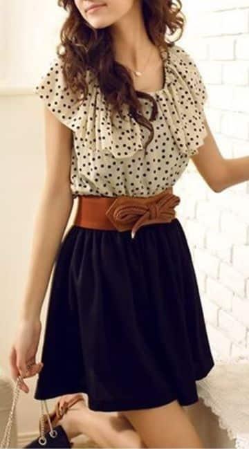 69cc1d17a Tendencias y tipos de blusas para faldas cortas de moda
