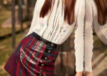 Tendencias y tipos de blusas para faldas cortas de moda