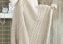 Las mantas de lana a dos agujas que necesitan tus espacios