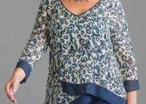 Variados modelos de blusas para señoras maduras y modernas