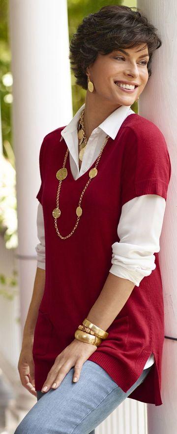 modelos de blusas para señoras mayores de 50