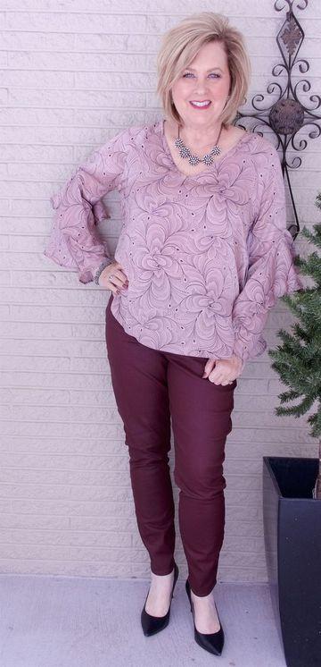 modelos de blusas para señoras mayores de 60