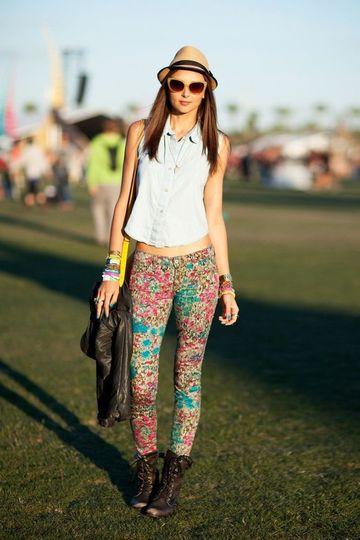 modelos de pantalones para dama estampados