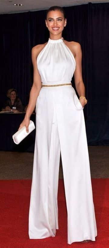 pantalones blancos para mujer anchos