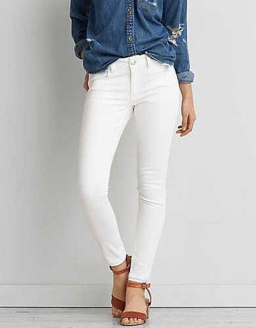 pantalones blancos para mujer juveniles