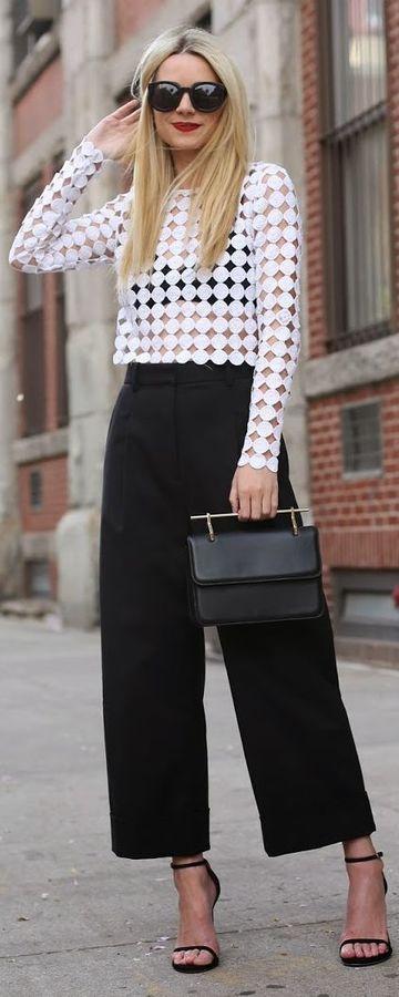 pantalones rectos para mujer de vestir