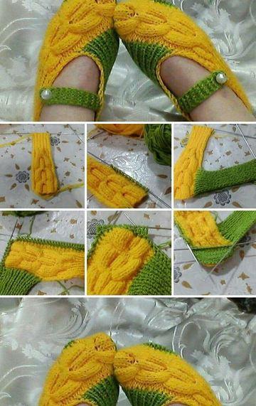 pantuflas tejidas a crochet paso a paso faciles