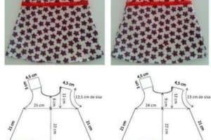 Obsequiamos varios patrones de ropa infantil para imprimir