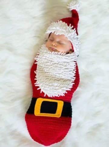 sacos de dormir para bebes de navidad