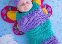 Lindos sacos de dormir para bebes hechos en tejido y tela