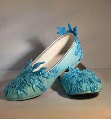 zapatos de frozen para niña de elza