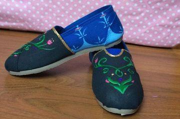 zapatos de frozen para niña de princesa anna