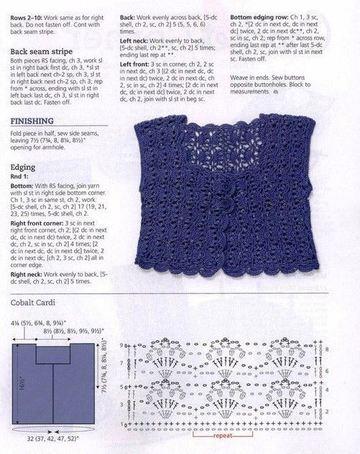 blusas tejidas para niña patrones a ganchillo