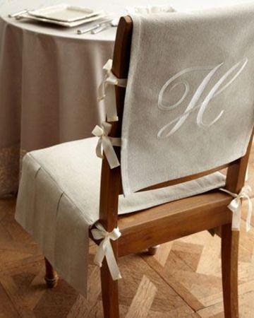 forros para sillas de comedor elegantes
